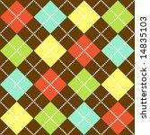 Fall Argyle Pattern