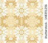 decorative seamless christmas... | Shutterstock .eps vector #148351256