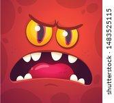 Cartoon Monster Face ...