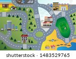 vector cartoon illustration of...   Shutterstock .eps vector #1483529765
