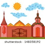 house cartoon | Shutterstock . vector #148358192