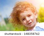 closeup portrait of sweet... | Shutterstock . vector #148358762