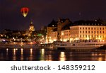 the royal palace in stockholm... | Shutterstock . vector #148359212