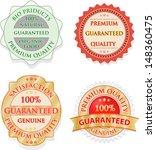 vintage label set | Shutterstock .eps vector #148360475