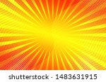 beautiful amber abstract... | Shutterstock . vector #1483631915