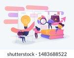 data analysis education ... | Shutterstock .eps vector #1483688522