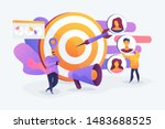 customer attraction campaign ... | Shutterstock .eps vector #1483688525