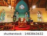 luss   scotland   may 16   2019 ... | Shutterstock . vector #1483863632