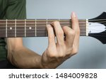 Guitar Player Hand Or Musician...