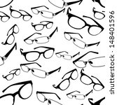 seamless spectacle pattern... | Shutterstock .eps vector #148401596