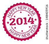 happy new year 2014 grunge... | Shutterstock .eps vector #148405916