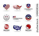 the usa  3 . | Shutterstock .eps vector #148408346
