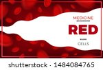 medical abstract background... | Shutterstock .eps vector #1484084765