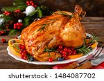 Christmas Turkey. Traditional...