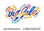 big sale vector banner... | Shutterstock .eps vector #1484104625