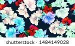 wide vintage seamless...   Shutterstock .eps vector #1484149028