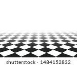 black and white perspective... | Shutterstock .eps vector #1484152832