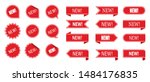 new tag ribbon and banner... | Shutterstock .eps vector #1484176835