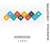 admission  trendy ui template...