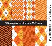halloween orange  white and...   Shutterstock .eps vector #148426982