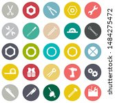 repair tools icons set  ... | Shutterstock .eps vector #1484275472