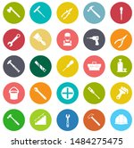 repair tools icons set  ... | Shutterstock .eps vector #1484275475