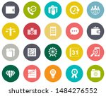 business and office icons ... | Shutterstock .eps vector #1484276552