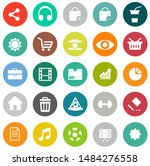 web icons set  communication... | Shutterstock .eps vector #1484276558