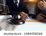 law  advice and legal services... | Shutterstock . vector #1484458268