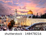 Skyline Of The Old City At The...
