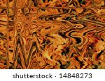 Zig-Zag pattern of overlapping vector lines - stock photo