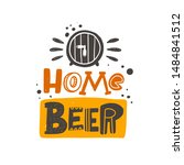 Home Beer Stylized Colored...