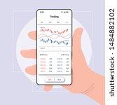 trading analytics smartphone...