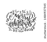 amazing lettering greeting text ...   Shutterstock .eps vector #1484937545