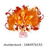 Illustration Of Lord Ganpati O...