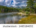 Sprague Lake, Rocky Mountain National Park. Colorado, USA.