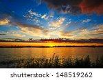 The Beautiful Sunset Glow.the...