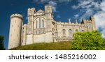 Looking Up At Arundel Castle On ...