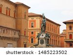Bologna landmarks: Fountain of Neptune is a monumental civic fountain located in the eponymous square, Piazza del Nettuno, next to Piazza Maggiore, in Bologna, Italy.