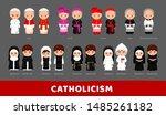 Catholicism. Pope  Cardinal ...