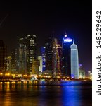the business  center of doha ... | Shutterstock . vector #148529642