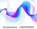 modern colorful flow background....   Shutterstock .eps vector #1485309095
