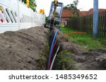 Fiber Optic Cable Laying In Th...
