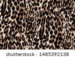 Seamless Leopard Design Pattern ...