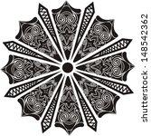 round pattern design element...   Shutterstock . vector #148542362