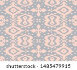 lace border. ikat seamless... | Shutterstock .eps vector #1485479915