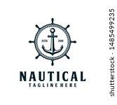 Anchor  Nautical Retro Hipster...