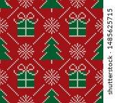 Christmas Seamless Knit Pattern ...