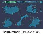 iceland  norway  ireland ... | Shutterstock .eps vector #1485646208