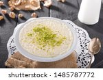 Small photo of Custard is a variety of culinary preparations based on milk or cream cooked with egg yolk to thicken it, and sometimes also flour, corn starch, or gelatin.